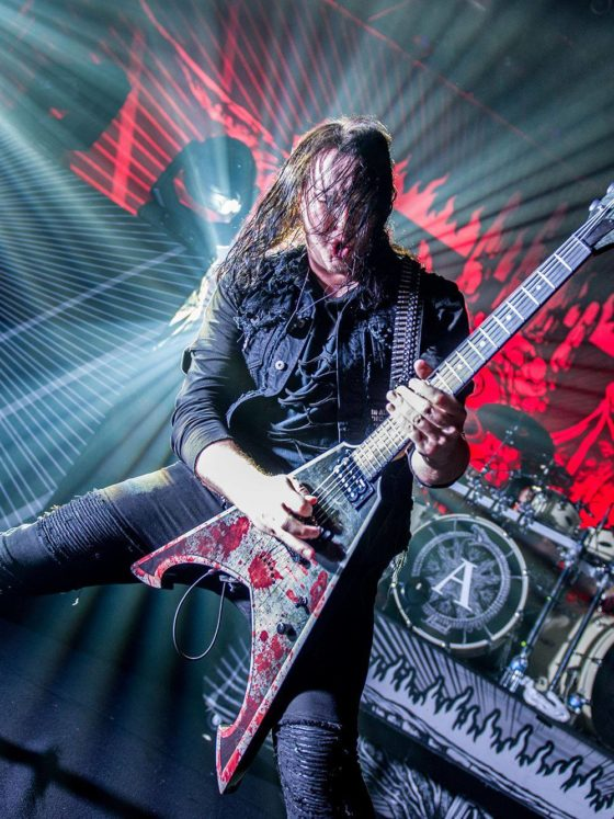 arch enemy michael amott photo fanny larcher collin lcf photography fr » arch enemy » Rock and Roll Blog