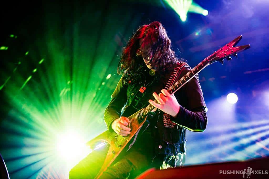O guitarrista Michael Amott fundou o grupo de death metal melódico do Arch Enemy e é o único remanescente da formação original